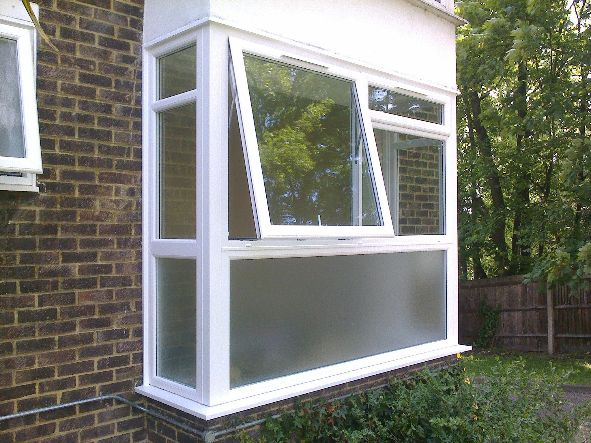 Casement window combination